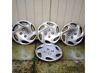 "Peugeot 206 14"" wheel trims"