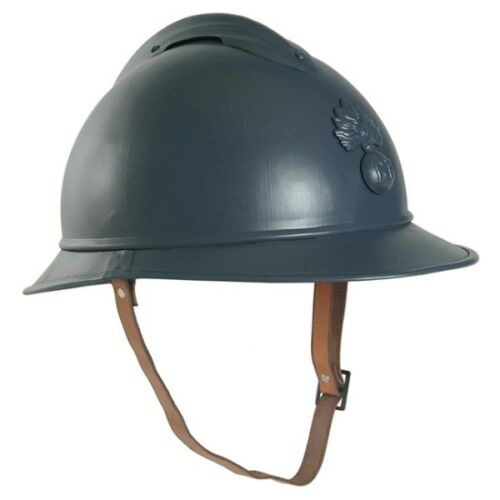 World War 1 French Army ADRIAN Steel Helmet - Beatiful Reproduction - New Made