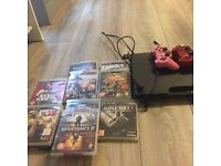 PS3 & 11 games plus 2 controllers & all cables