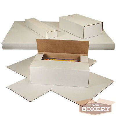 25 Record Mailing Boxes Vinyl Record Mailers Multi-depth The Boxery