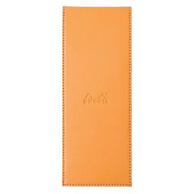 Rhodia Pad Holder - Orange - Graph Pad With Pen Loop - 3 X 8.25 Inch - R118098