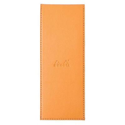 Rhodia Pad Holder - Orange - Graph Pad With Pen Loop - 3 X 8.25 Inch - R118098