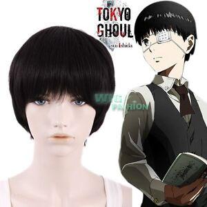 Anime Tokyo Ghoul Tokyo Guru Ken Kaneki Short Black