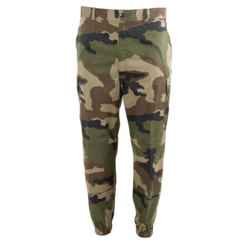 Genuine French Army Combat Pants Military CCE camo T2 trousers Fast Ship