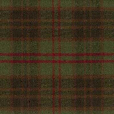 Marcus Fabric Christmas Primo Cotton Flannel Plaid Hunter Crimson