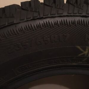 Winter tires 235/65R17