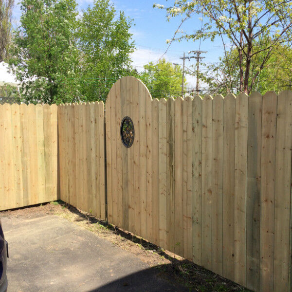 Cedar Clothesline Poles Quot Wilson S Fencing Quot Fence