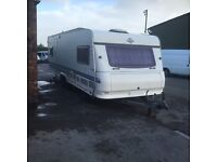 Hobby. Caravan. Executive 25 ft. 2000. Fixed bef