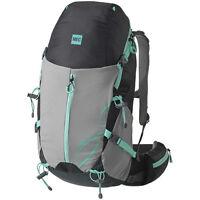 MEC Aria 40 Daypack (Backpack), Coal/Pool Blue, Women's, 40L