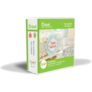 Cricut MERRY and BRIGHT cartridge (Christmas & Holiday) - $40