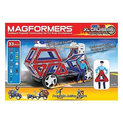 MAGFORMERS XL Cruisers Emergency Set 33