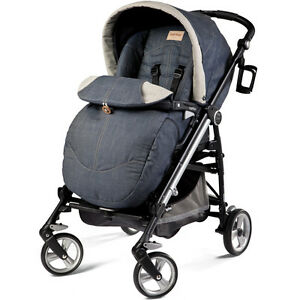 Poussette Peg perego pliko 4 Switch DENIM JEANS