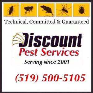 DISCOUNT PEST CONTROL ( Government Licensed Professional) Kitchener / Waterloo Kitchener Area image 1