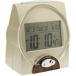 Self-Setting Atomic Talking Calendar Clock w/ Time, Date and Alarm for the Blind