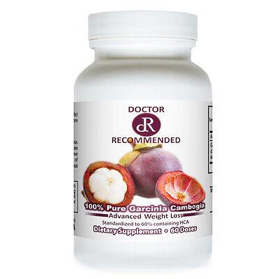 100% Pure Garcinia Cambogia Extract PLUS 100% HCA Weight Loss Diet Fat Burner