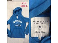 Abercrombie Hoodie size Large