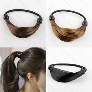 Pony-Tail-3-Color-Rock-Multi-Hair-Rubber-Band-Cuff-Ponytail-Holder-Rope