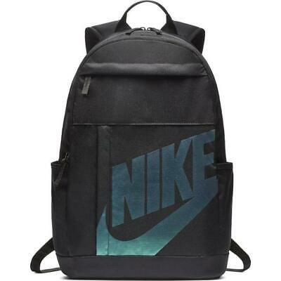 NEW NWT NIKE  Elemental 2.0 Backpack Brasilia Prime Student Black Metallic