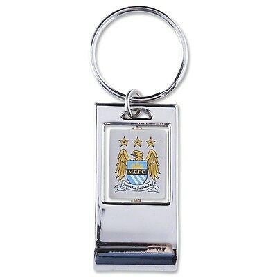 Man City Bottle Opener Keyring - Ideal Football Gift