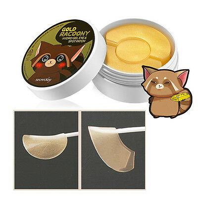 [SECRET KEY]  Gold Racoony Hydro Gel Eye & Spot Patch 90P(Eye60P&Spotpatch30P)