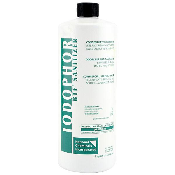 BTF Iodophor Sanitizer - Draft Beer Equipment Cleaning Kits Homebrew Sanitation