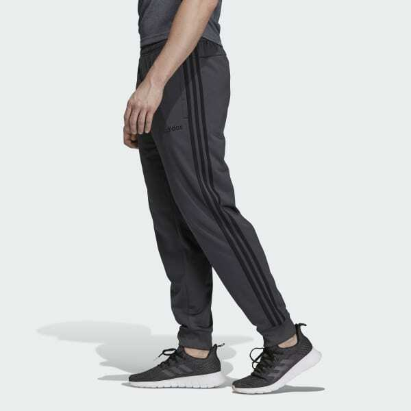 essential mens tricot 3 stripes tapered track