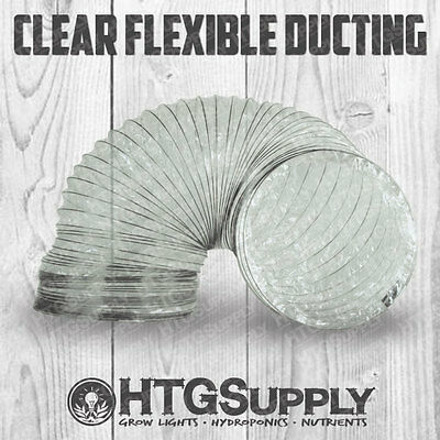 clear ducting 6 or 8 flexible duct