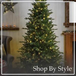 400 LED GE 6.5-ft Bavarian pineAmazing Design Heavy Duty XChristmas 1025 tips  Artificial Christmas Tree