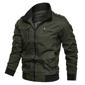 Mens outdoor cotton sports jacket Size M. With 25% discount