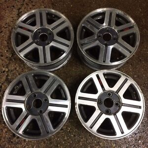 "14"" Alloy Rims off Geo Metro 4x100 OBO"