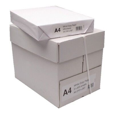 A4 Plain White Multifunction Copier Printer Paper 80GSM Office Home Stationery