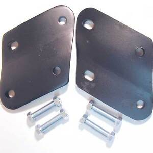 SKI DOO  SKI WIDENER   PLATES    NO BOLTS