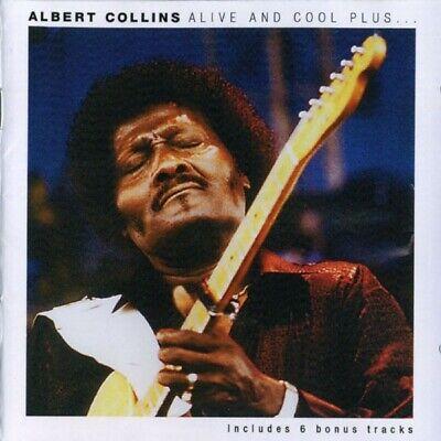 Albert Collins Alive And Cool Plus CD+Bonus Tracks NEW SEALED Blues