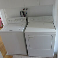 laveuse et secheuse washer dryer