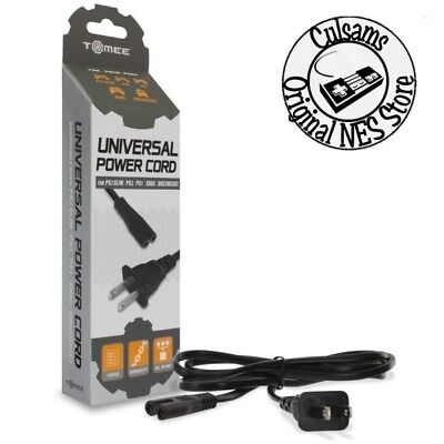Universal Power Cord for PS4/ PS3 Slim/ PS2/ PS1/ Xbox/ Dreamcast/ Saturn (Ps3 Power)