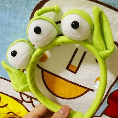 NEW NWT DISNEY Toy Story Alien EARS COSTUME Plush HEADBAND ADULT OR CHILD