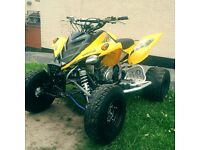 Yamaha raptor 700r 2006 road legal