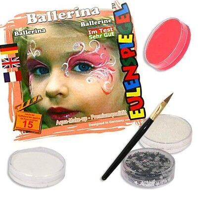 Tänzer Make-up (Kinderschminke Tänzerin, Tanzgruppen Schminke Fasching, Make-up für Tänzerinnen)