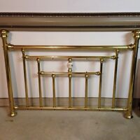 Deluxe brass bed - Like new!