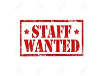 Staff required for Indian takeaway Newton Mearns