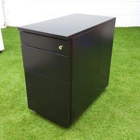 Locking black Metal Techo pedestals desk drawers cheap