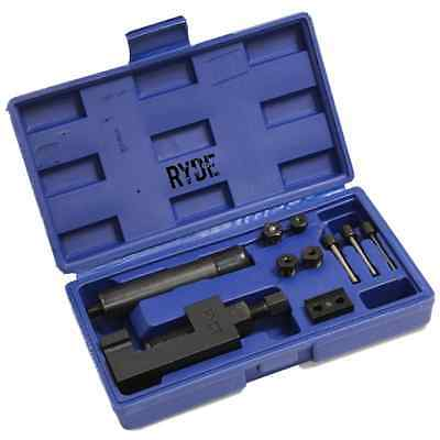 RYDE MOTORCYCLE BIKE CHAIN BREAKER SPLITTER RIVETING TOOL HEAVY DUTY REPAIR SET