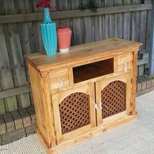Rustic Vintage Sideboard TV Entertainment Unit Cabinet Upcycled Coogee Eastern Suburbs Preview