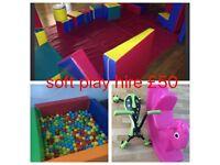 Softplay mascots bouncy castles candy floss machine