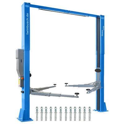Twin Busch ® NEUE 2 Säulen Kfz Hebebühne 5000kg Heavy Line barrierefrei TW250B45