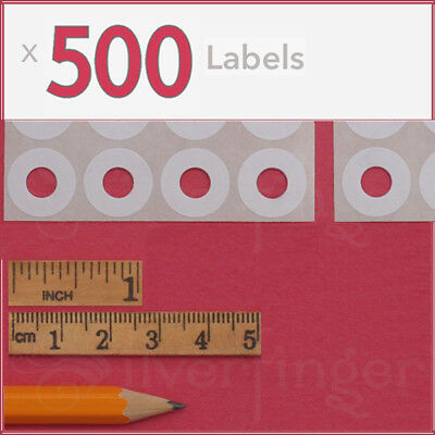 Stickers Wholesale (500ct Paper Hole Reinforcements — Label Sticker Binder Ring Punch Hole)