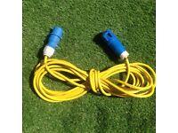 10m caravan motorhome camping electric hook up cable