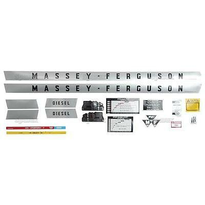 Massey-ferguson Mf 135 Mf135 Tractor Complete Decal Set
