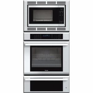 Four triple 30'' Stainless, Thermador – Four + Micro-ondes + Tiroir réchaud