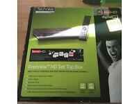 Technika freeview hd set top box